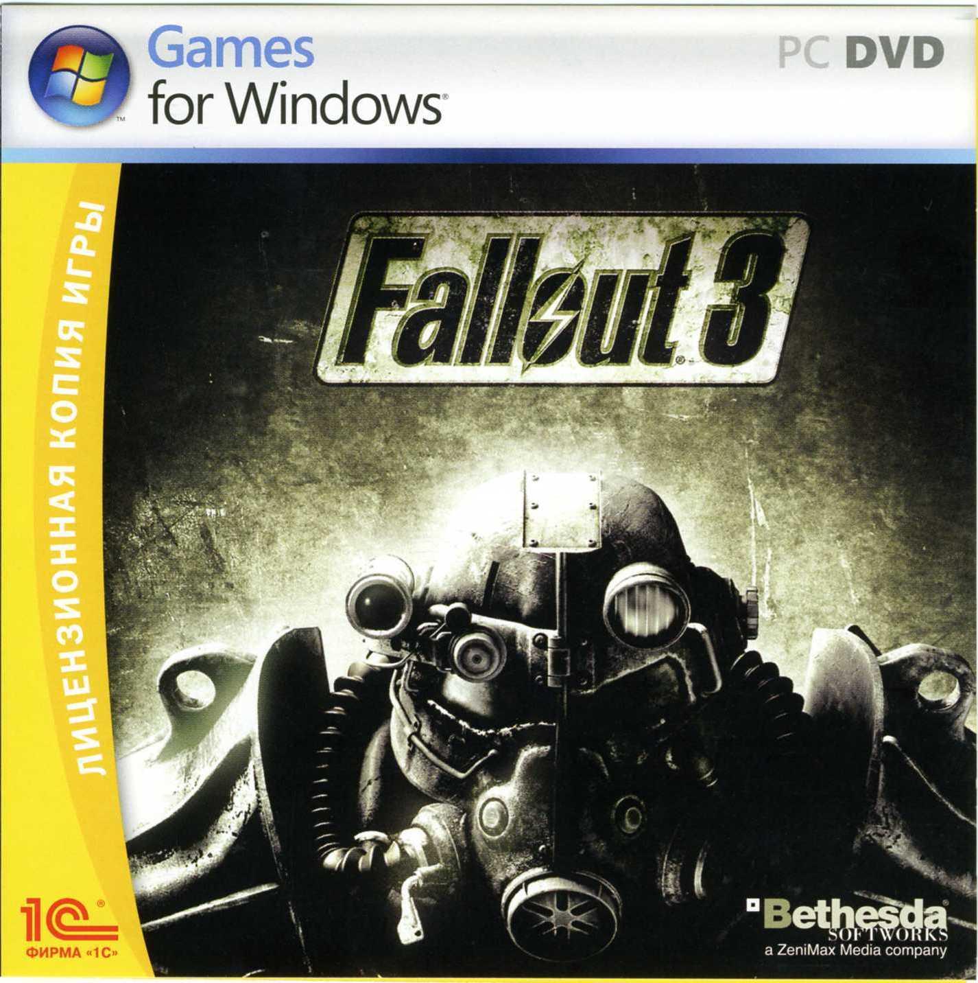 Название игры Fallout 3 Версия v1.5 EN Release Group/Person